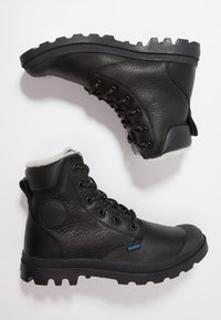 Palladium - PAMPA SPORT WATERPROOF SHEARLING - Vinterstøvler - black - 1