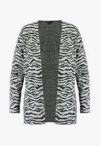 MS Mode - WITH ZEBRA PRINT - Cardigan - grey - 4