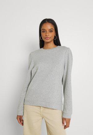 VIRUST - Sweatshirt - mottled light grey