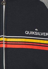 Quiksilver - ESSENTIALS SCREEN ZIP RAGLAN - Zip-up sweatshirt - navy blazer - 2