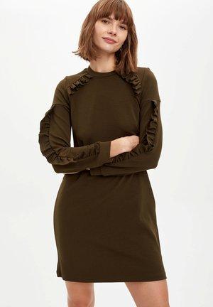 Vestido informal - red