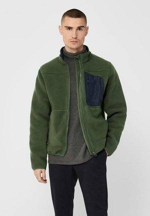 Fleece jacket - deep depths