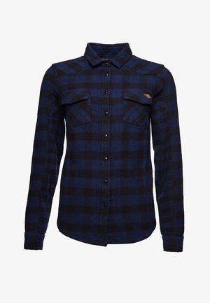 Overhemdblouse - blue check