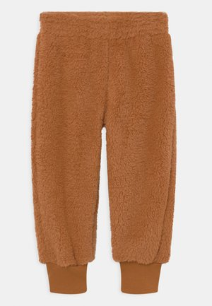 UNISEX - Tracksuit bottoms - toffee