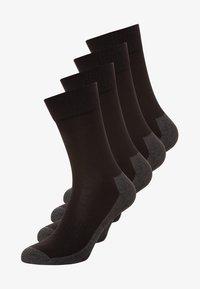 camano - 4 PACK - Sports socks - black - 0