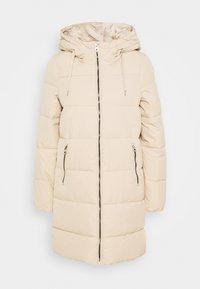 ONLDOLLY LONG PUFFER COAT - Zimní kabát - humus