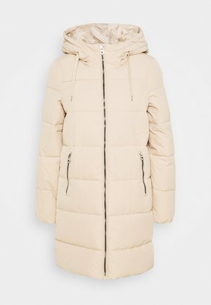ONLDOLLY LONG PUFFER COAT - Winter coat - humus