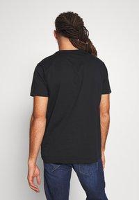 Esprit - 2 PACK - Print T-shirt - black - 3