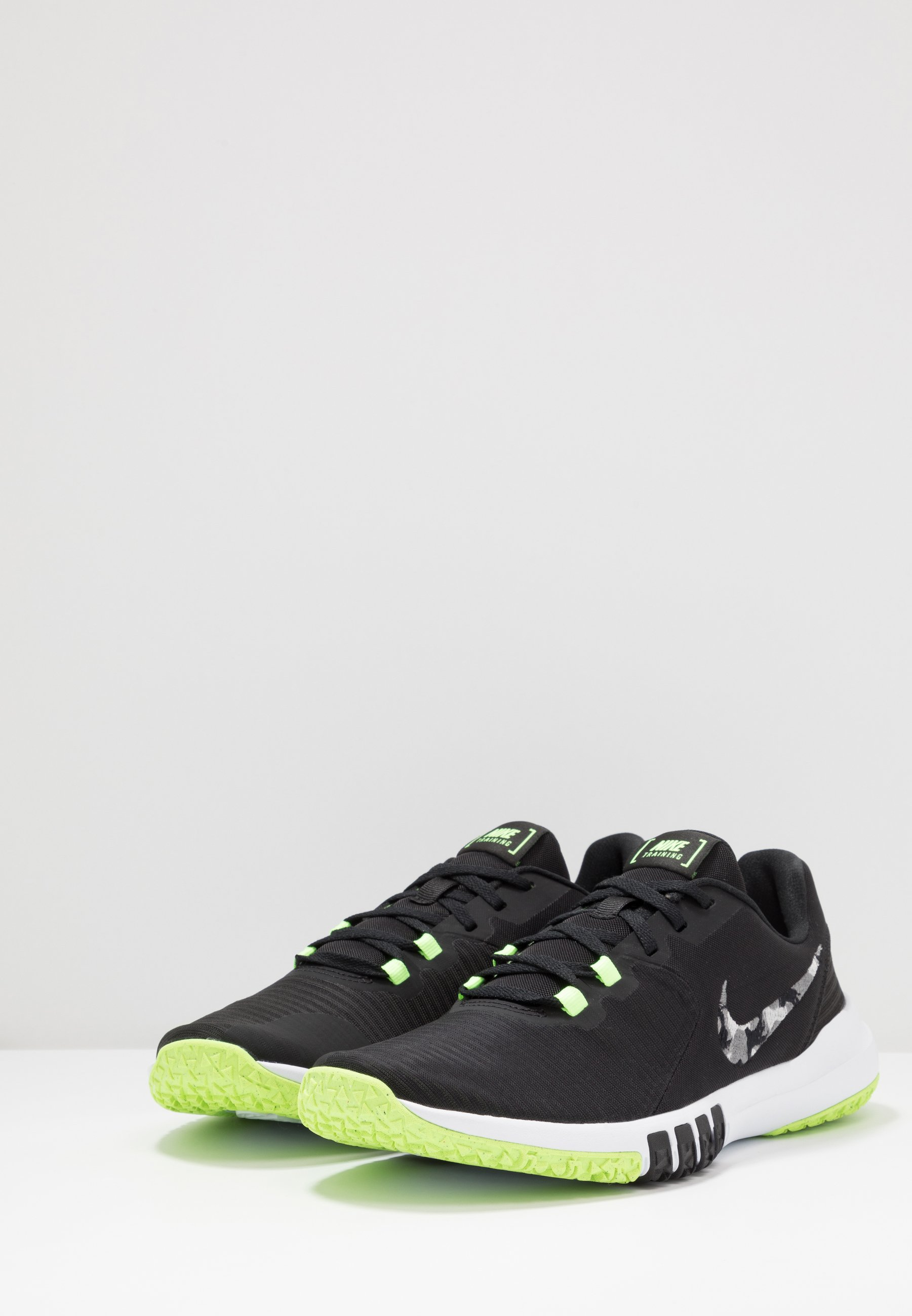 FLEX CONTROL TR4 Gym & träningskor blacksmoke greyghost greenphoton dustsapphire