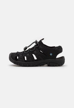 COVE SPORT WOMENS - Walking sandals - black/light blue