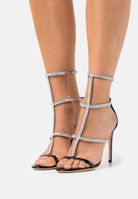 Giuseppe Zanotti - High heeled sandals - tinta passante/nero - 0