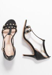 Trussardi - Korolliset sandaalit - black - 3
