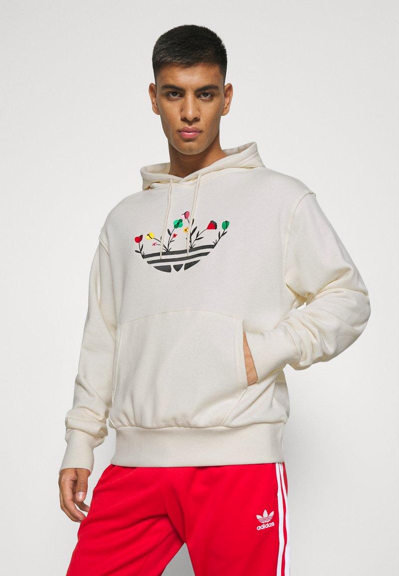 adidas Originals - FLORAL TREFOIL UNISEX - Sweatshirt - off white