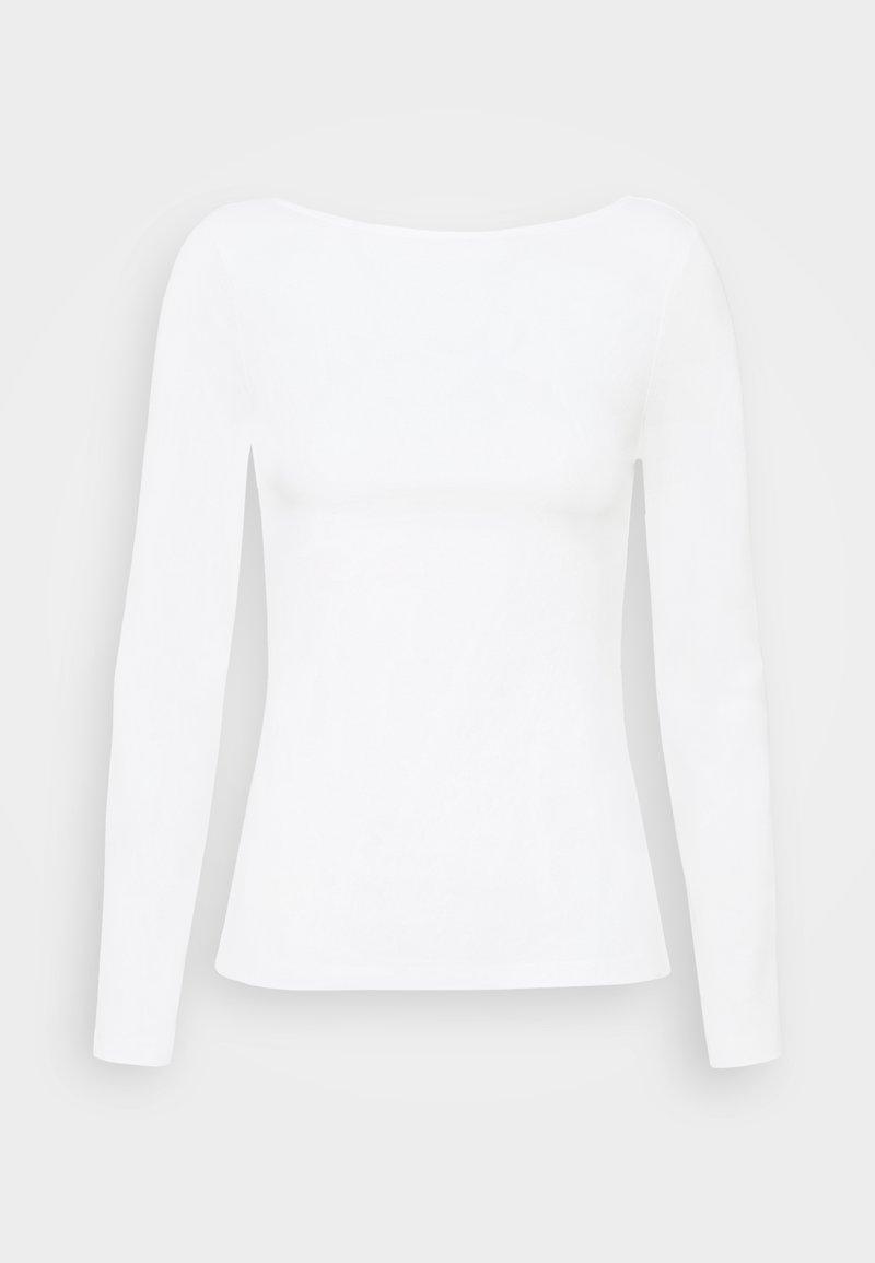 Anna Field - Top sdlouhým rukávem - white