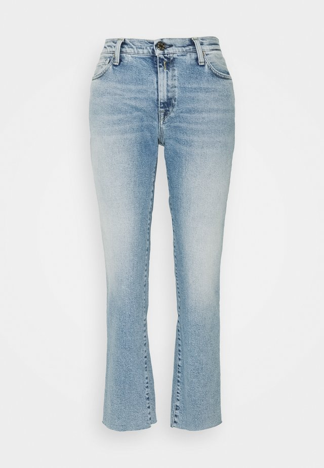 ROSE COLLECTION JULYE PANTS - Jeans straight leg - light blue