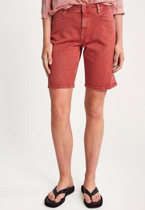 Denim shorts - tabasco