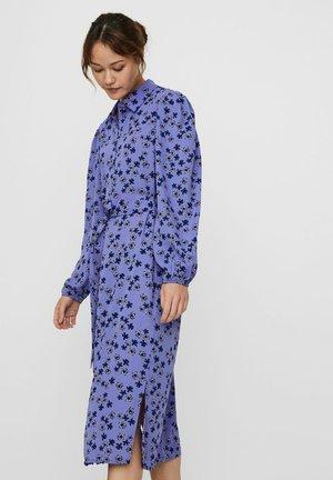 Shirt dress - iolite