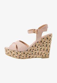 Anna Field - Korolliset sandaalit - rose - 1