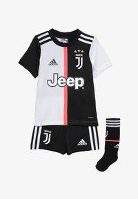 adidas Performance - JUVENTUS MINI SET - Sports shorts - black/white - 4