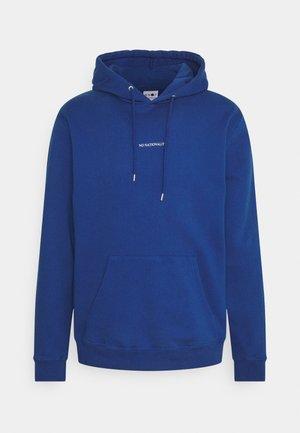 BARROW PRINTED HOODIE - Jersey con capucha - cobalt blue
