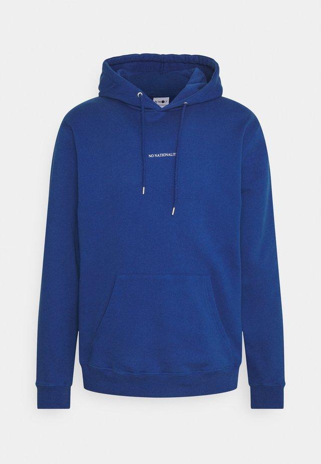 BARROW PRINTED HOODIE - Kapuzenpullover - cobalt blue