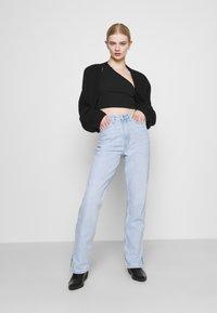 Weekday - ROWE SPLIT - Straight leg jeans - lula blue - 1