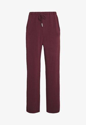 HUESCA - Trousers - amarone