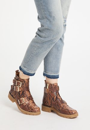Ankle boots - schlange