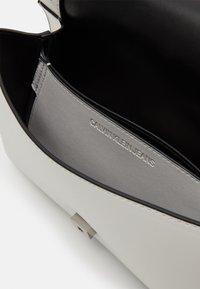Calvin Klein Jeans - CONVERTIBLE FLAP - Across body bag - white - 2