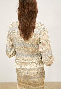 Uterqüe - Summer jacket - gold - 2