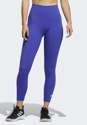 BELIEVE THIS PRIMEBLUE 7/8 TIGHTS - Tights - blue