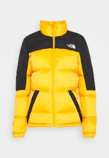 DIABLO JACKET - Gewatteerde jas - summit gold/tnf black