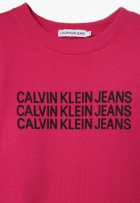 Calvin Klein Jeans - TRIPLE LOGO - Sweater - purple - 3