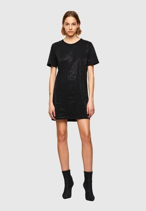 D ARY R - Jersey dress - black