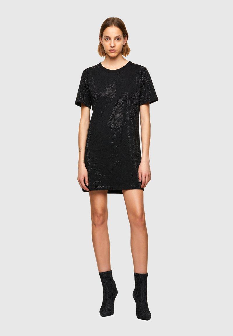 Diesel - D ARY R - Jersey dress - black