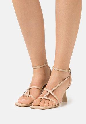 TAE - T-bar sandals - sand
