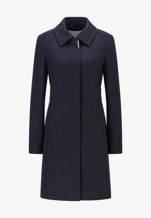 CASENA - Classic coat - open blue