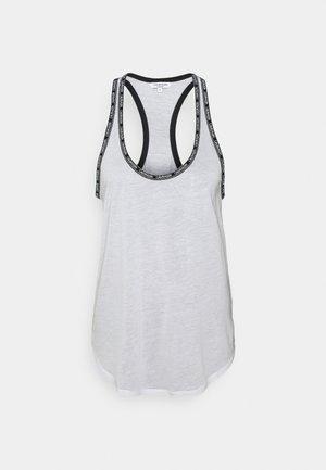 CORE LOGO TAPE TOP - Pyjama top - classic white