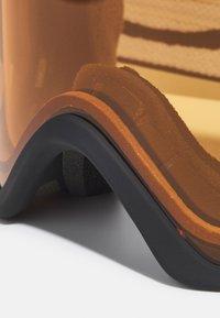 Oakley - FRAME PRO UNISEX - Occhiali da sci - persimmon/dark grey - 4