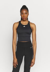 adidas Performance - TANK - Top - black/white - 0