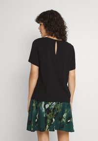 Vila - VILANA KEY HOLE - Basic T-shirt - black - 2