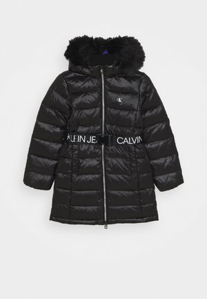 ESSENTIAL LONG - Down coat - black