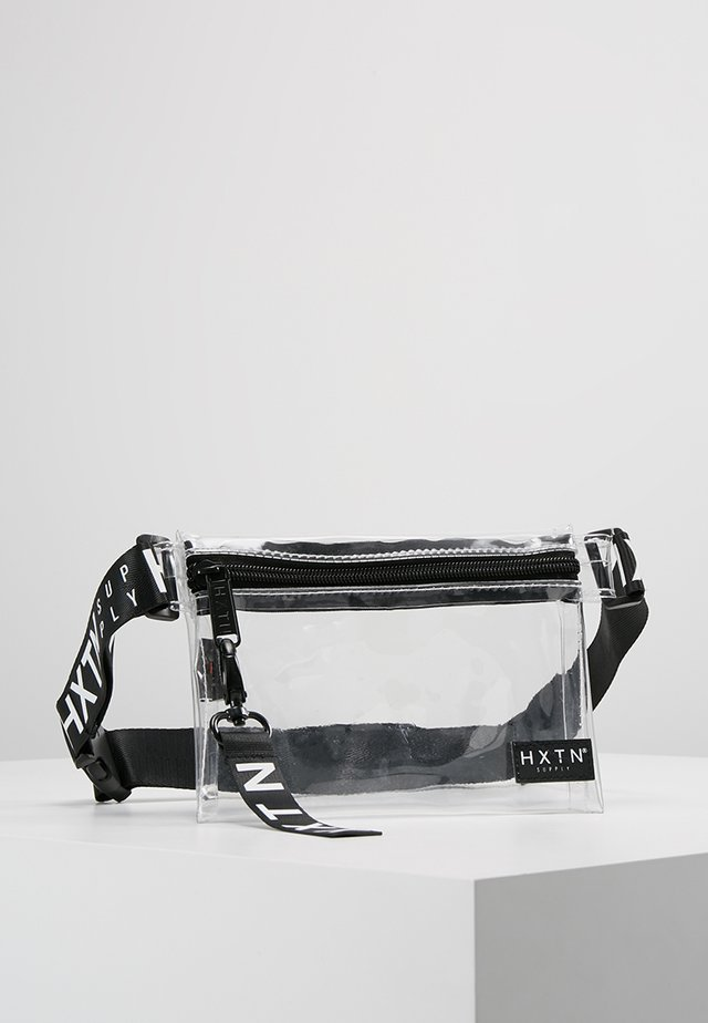 PRIME CROSSBODY - Bum bag - optic clear