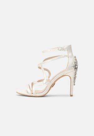 CLAUDIA - Sandals - ivory