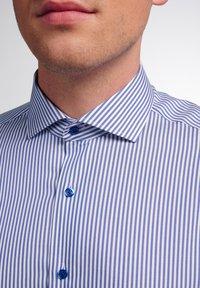 Eterna - SLIM FIT - Shirt - blau/weiß - 2