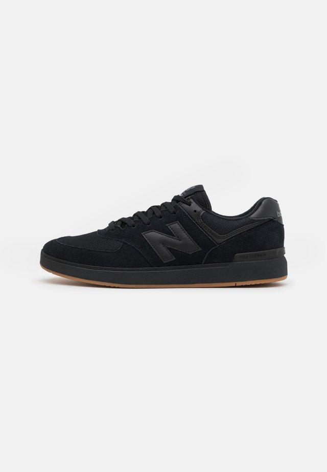 574 UNISEX - Trainers - black