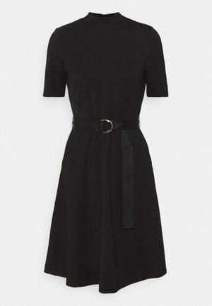 DARFIA - Vestito di maglina - black