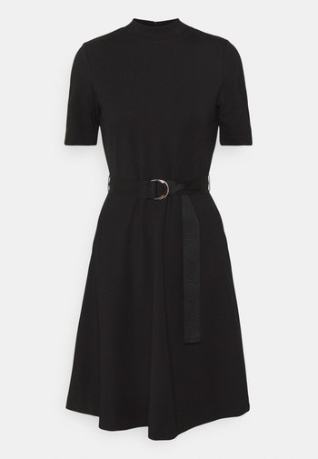 DARFIA - Jersey dress - black