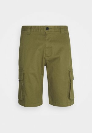 WASHED CARGO - Shortsit - uniform olive