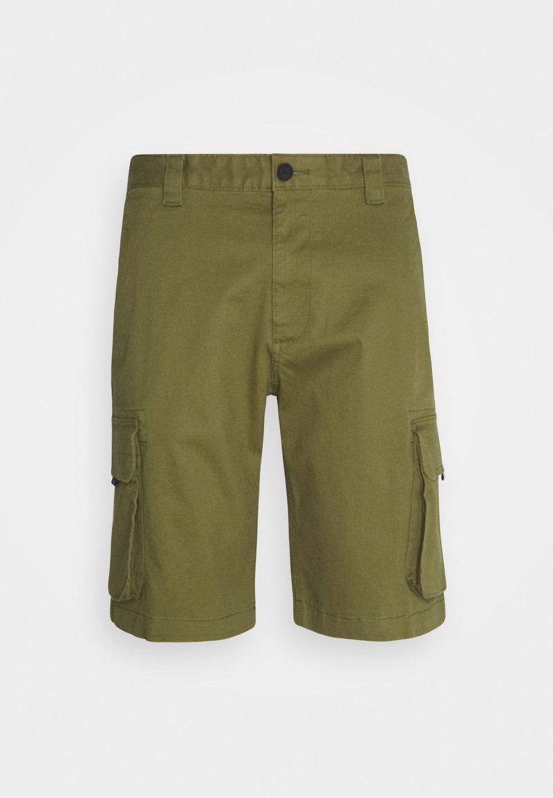 Tommy Jeans - WASHED CARGO - Shortsit - uniform olive